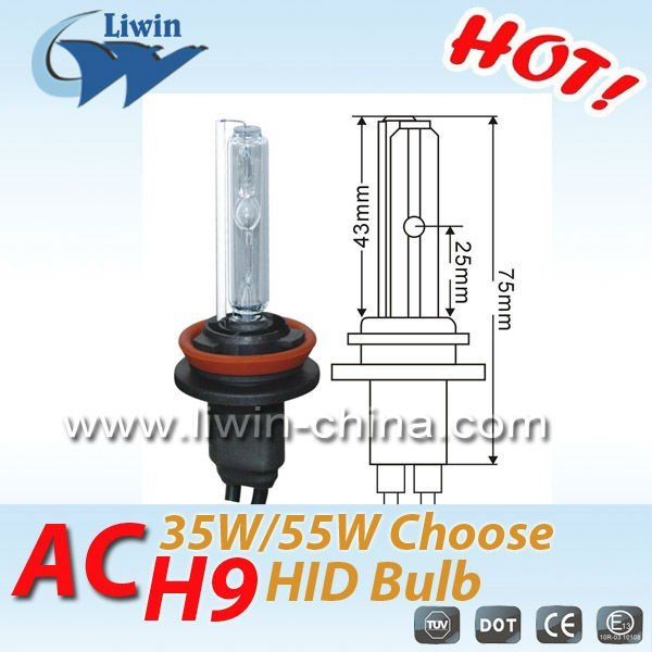 12Months warranty,CE approved 12v 55w h9 hid xenon lamp for car on alibaba