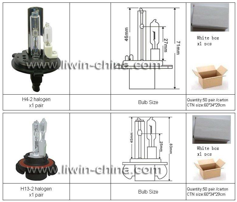 auto car H13-4 headlight bulbs