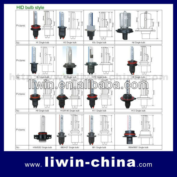 Universal Type HID Hi/Lo Xenon lamp for cars