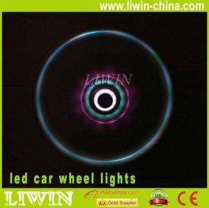 chegada nova fábrica direto do carro luz conduzida da roda do carro levou luz