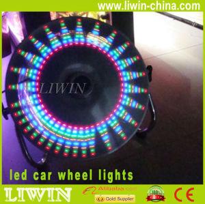 新しい着かれた導かれた車のオートバイの車輪ランプ