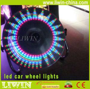 ledの車のホイールライト熱い販売