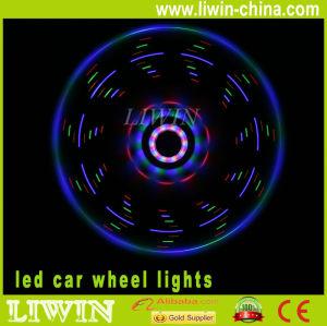 chegou nova luz conduzida da roda de carro