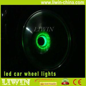 venda quente 12v solor roda do carro do carro lightsfor