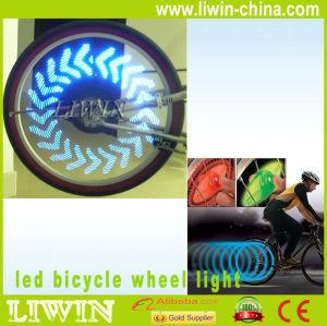 新しい到着の工場直接導かれた自転車の車輪ライト