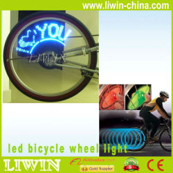 led bike raios de luz