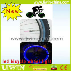 fábrica de diodo emissor de pneu de bicicleta de roda de led de iluminação