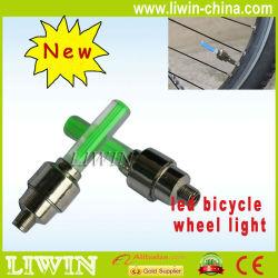 Mejor venta de--- led de silicona luces de bicicleta, bicicletas habló luz led, bici de la suciedad de luz led