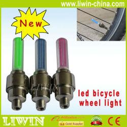 carro e moto bicicleta bicicleta pneu da bicicleta de roda válvula 16 flash led falou luz