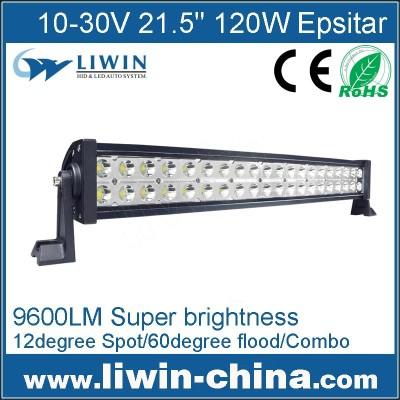 Liwin Hot Selling 10-30V 21.5''120W Epsitar Aluminum Led Bar