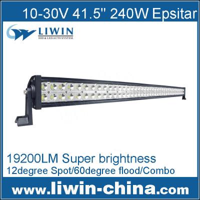 Liwin 2014 Hot Selling 41.5'' 240W Super Brightness Led Auminium Bar