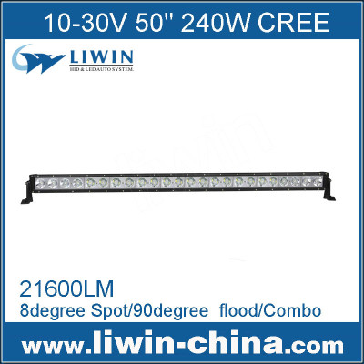 Liwin excellenct quality 10-30v 240w cree 50 inch led light bar