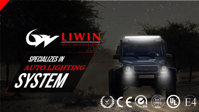 nouvelle version plus récent de haute lumière de tube de led light bar importés feu arrière phare de moto