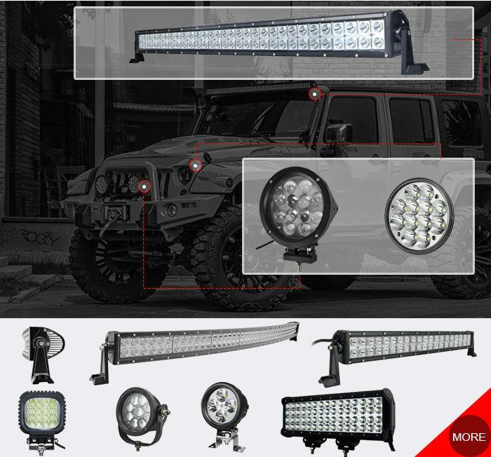 Prix hors carrés design 20% hors poussière preuve phares de travail pour les tracteurs jeep. lampe d'éclairage automatique