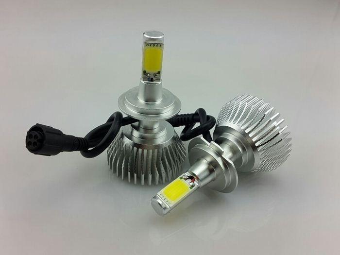 Hot vente brigtness haute'beam- met en évidence la conception preuve de la poussière h7 1800 d'originelm voiture phare de led
