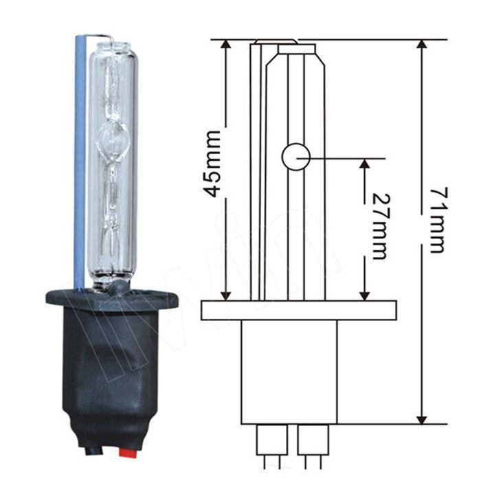 hot vendre haute qualité remplacement rohscertificat appropval prix lampe au xénon pour les camions