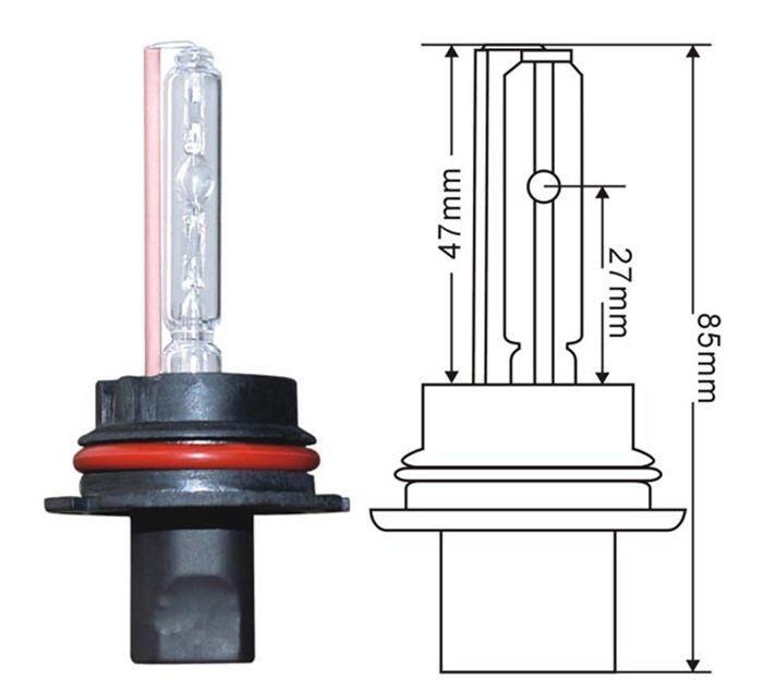 Meilleure vente d'approvisionnement d'usine lumen élevé rohscertificat appropval xénonwatt réverbère pour camion