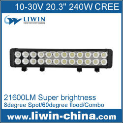 baratos pequeñoshotsell 240w offroad barra de luz led de coches accesorios 36w 4x4 barra de luz led para el tractor utv