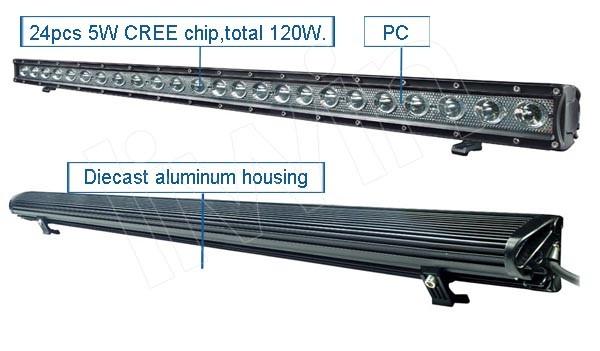 Baratos liwin luz de advertencia de la barra, offroad barra de luz led para los camiones
