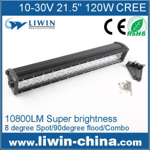 LIWN super quality 120w 4x4 led bar light,auto led light for tractor, 120w bar light electric bike