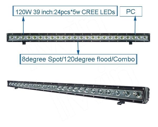 新しいオリジナルデザインフレキシブルライトバーオフロードledバーライトのための自動照明システム