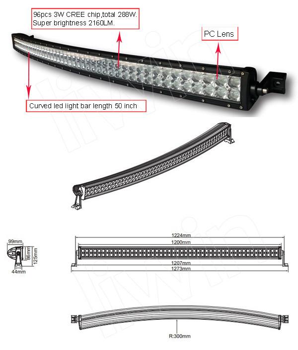 novo produto levou caminhão leve trabalho 12v barras de led para 4x4 4wd atv