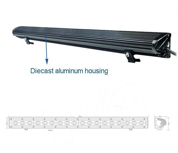 novo estilo quente vender 90w redonda diodo emissor de luz de condução para o caminhão