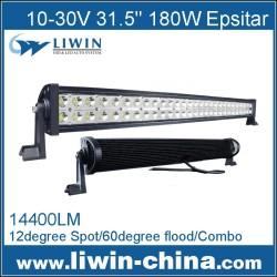 super qualidade 180w carro levou luz bar quad linha levou barra de luz 12v carro led na china