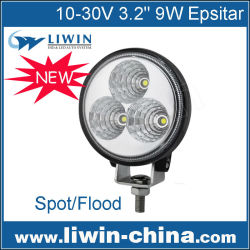 2015 liwin china real de estados unidos lw 9w 10v-30v auto led de luz de trabajo para el carro