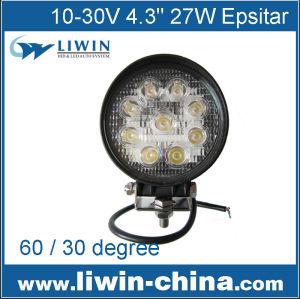 中国のサプライヤー27w超高輝度ledの作業灯、 ワークランプのalibabaエクスプレス、 の自動導いた仕事12vlwライト車用のledランプとtrai