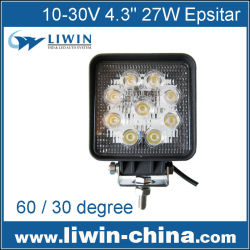 100% satisfaction guarantee 27W lw led work light for cars Atv SUV auto spare part car
