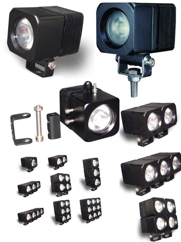 고품질의 10 30V 900lm 10w LW offroad 주도 작동 빛 자기