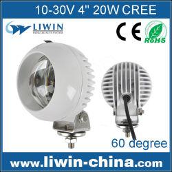 Ip67 10-60v круглый 20w lw привели бездороёью работая свет автомобиля головная лампа задние фонари