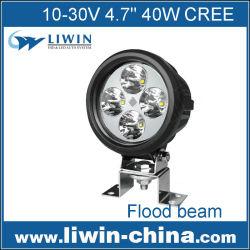 china liwin 2015 de la marca más popular 12v lw 40w led de luz de trabajo para utv 4wd coche accesorios del coche hecho en china chino mini camiones