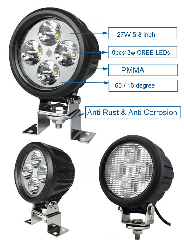 Liwin China brand 2015 Most Popular 12v lw 40w led work light for UTV 4WD Car car accessory made in china chinese mini truck