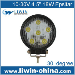 2015 super brillante 10v-30v 5000 18w lumen led de luz de trabajo led pl lámpara de trabajo utv para coche