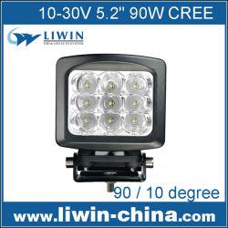 guangzhou auto accesorios del mercado 9x10w lw 90w leds de luz led de trabajo