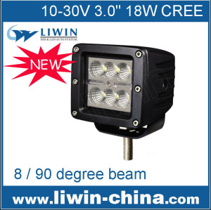liwin melhor baratos 3 polegadas 18w lw alumínio diodo emissor de luz de trabalho usado para toyota pickup carro