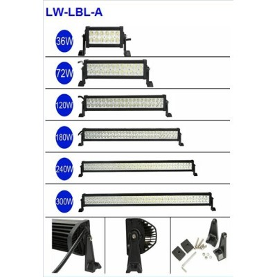LW High Power Offroad energy saving led light bar with CE & RoHs