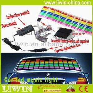 سليمة لمراقبة الموسيقى تصميم براءة اختراع جديدة led أضواء عيد الميلاد للحصول على إيقاع الموسيقى سيكويا ضوء سيارة السيارات
