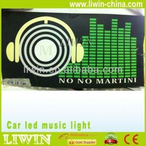 المنتجات الترويجية الجديدة سيارة يقودها لصناعة السيارات في اوستن المراقب الموسيقى led كشافات دراجة نارية دراجة نارية سيارة سيارة ضوء مصباح السيارات