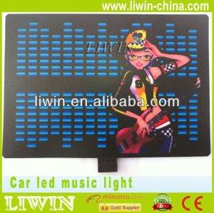 الصين العلامة التجارية الشهيرة الساخن liwin الساخنة سيارة يقودها ضوء تغيير الموسيقى لإنفينيتي مصباح الضباب