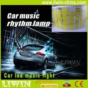 الصين العلامة التجارية أحدث تصميم liwin مستشعر موسيقى أدى ضوء سيارة لاند إيقاع الموسيقى