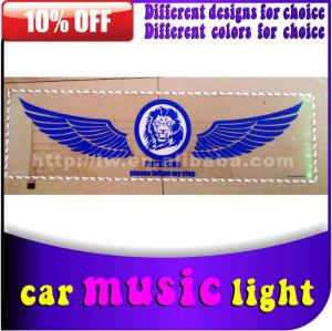 2015 50% العاصمة 12v الخصم بيع السيارات الخفيفة الصمام موسيقى ضوء لشاحنة