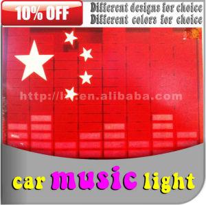 حار بيع العلامة التجارية liwin 2015 12v dc السيارات سيطرة صوت الموسيقى الإضاءة الداخلية 12 فولت أضواء لمقعد السيارة
