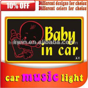 تصميم جديد الأصلي 12v الموسيقى الخفيفة سيارات التحكم عن بعد مع الموسيقى لatv