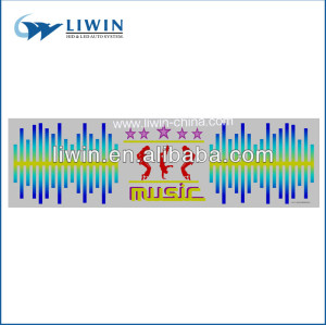 بيع أفضل علامة تجارية liwin 12v سيطرة صوت الموسيقى أضواء عيد الميلاد للبيع بالجملة العفنsuv ميني جيب atv