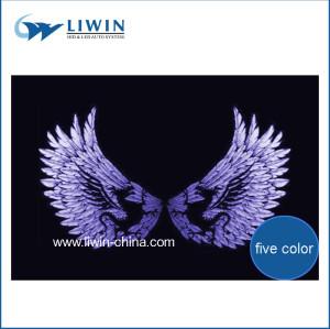 الصين العلامة التجارية الشهيرة liwin 2015 أفضل موسيقى سيارات hotsale الموسيقى تنشيط ضوء led للحصول على ملصق بلوبيرد السيارات