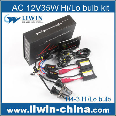 Liwin wholesale high quality AC12v 35w xenon hid kit for car H4 3