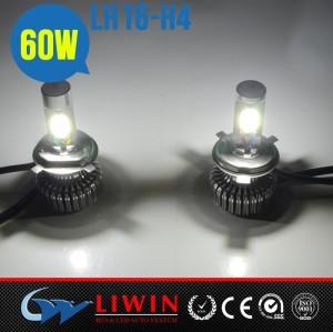 الجديد وصول lw 2014 60w 2500lm h4 h7 قاد السيارة الأمامي المصابيح الهالوجين مصابيح led